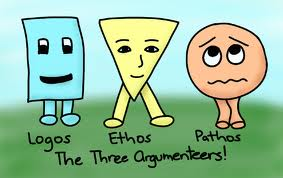The Three Argumenteers: Logos, Ethos and Pathos