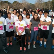 Civitas/Roybal Runners at the SoCal Half Marathon