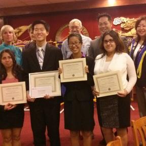 Round 2, Student Speakers Contest, Chinatown