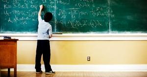 Chalkboard boy