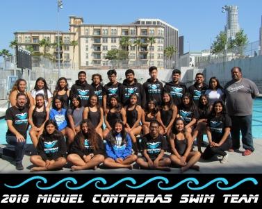 MCLC Swim Team 2018